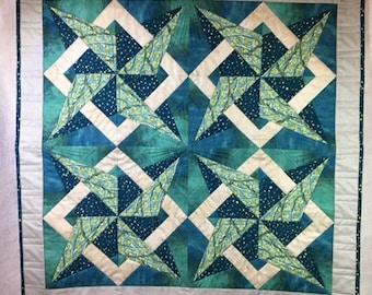 Charleston Star Wall Hanging Quilt