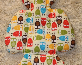 Handmade Newborn Insert, 4moms mamaRoo rockaRoo Insert, Cute Owls Insert, Babyshower Gift,