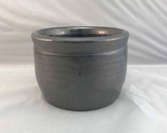 Metallic Stoneware Catch-All Cup