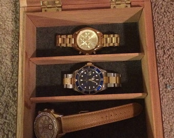 Custom Cigar Watch Box, Customizable