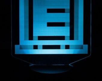 Mega Man Energy Tank LED Light Display