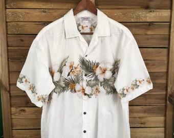 Camisa Hawaiana Hawaiian Shirt Vintage Pacific Legend Hawaii Aloha MahaloVintageStore