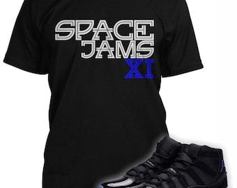 Espace confitures chemise conçue pour correspondre à l'Air Jordan 11 espace  confitures Sneakers (