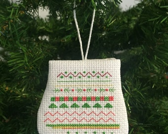 Holiday Mitten Ornament