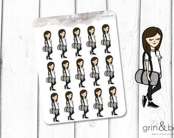 Gym Bound - Everyday Girl Stickers (EG008)