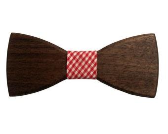 Bow tie American Walnut
