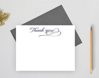 Thank you cards wedding, Wedding thank you cards set, Wedding Stationery, thank you notes,  thank you note cards, flat notecards, TC2