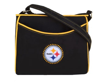 Pittsburgh Steelers Purse NFL Bling Handbag