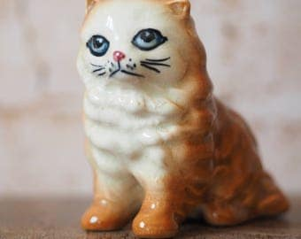 Kitsch Ginger Cat Ornament