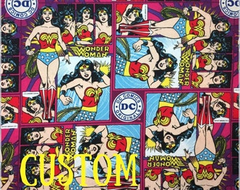 Wonder Woman Custom Cloth Pad - Reusable Menstrual Cloth