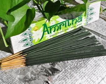 Scent of jasmine incense sticks