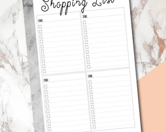 Shopping Lists // Multiple Store Lists