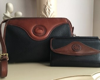 Classic Dooney & Bourke Matching Purse and Wallet