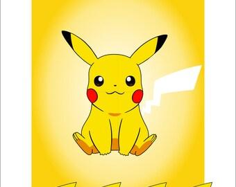 Pokemon pokemon birthday pokemon games pin the tail on pin the tail on pikachu pronofoot35fo Gallery