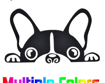 French Bulldog sticker - Cute Frenchie Dog durable outdoor vinyl decal