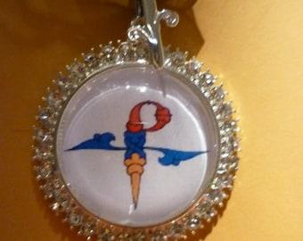 Armenian initial pendant.
