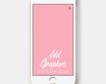 Add Graphics Design Listing for ONE additional graphic