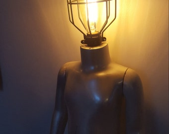 OOAK Repurposed Mannequin Lamp
