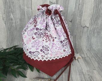 Knitting bag / spider bag (large) - 2.