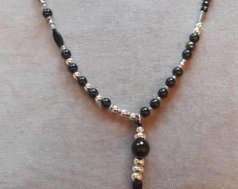 Black & Silver Necklace