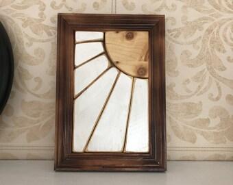 Wooden Sun Frame