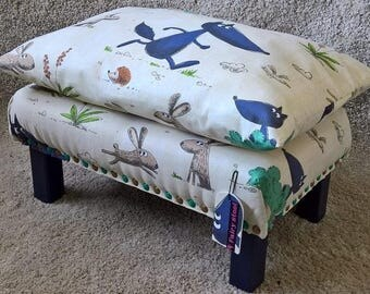 Children Stool.Kids Chair.Seat.Small Footstool.Small stool for children.