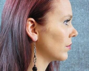 earrings-black-silver-pendant-very-long-vintage-ethnic-bohemian-chic-boho-jewelry-gypsy-evening-graduation-gala-prom-BO245