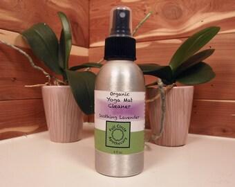 Yoga Mat Antibacterial Spray, Antimicrobial Sanitizing Organic Cleaner