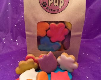 Bag O' Spring, Grain Free Peanut Butter Dog Treats