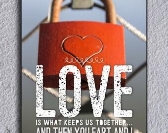 Funny Framed Love Message