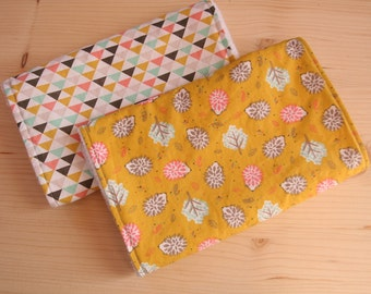 Handmade Over the Shoulder Burping Cloths