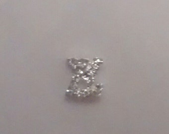 Set of 6 identical LV charms - Louis Vuitton - designer- floating charms for floating charms memory living glass lockets