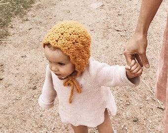 BEATRICE bonnet (gold)