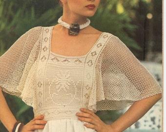 Vintage Butterfly Top Crochet Pattern