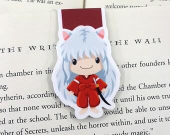 Inuyasha Magnetic Bookmark, Planner Clip, Anime, Manga
