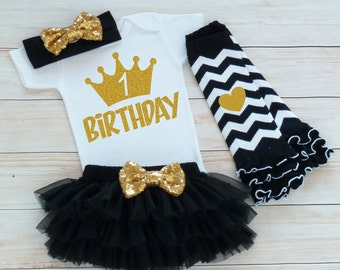 First Birthday Outfit Girl, 1st Birthday Bodysuit, Cake Smash, 1st Birthday Girl Outfit, Birthday Girl Shirt, Tutu Outfit, 1st Birthday Gift