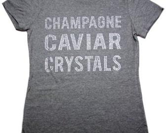 Champagne Caviar Crystals