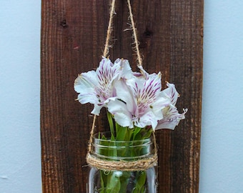 Mason Jar Decor, Rustic Decor, Rustic Home Decor, Farmhouse Decor, Farmhouse Style Decor, Home Decor, Mason Jar, Barn Wood, Rustic Style