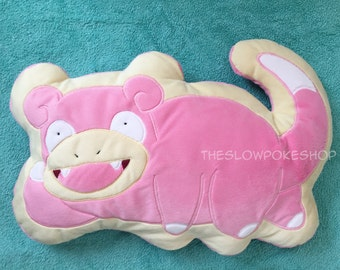 MADE TO ORDER: Pokemon Slowpoke Decorative Cushion