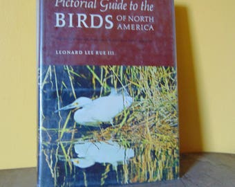 Pictorial Guide to the Birds of North America 1970 Leonard Lee Rue III  OOP