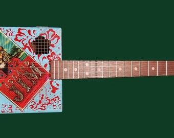 Cigar box ukulele
