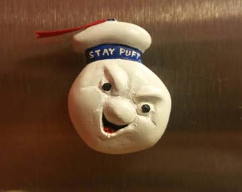 Stay Puft Ghostbusters Magnet