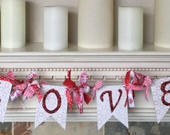 Valentines Day Garland Banner