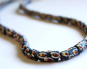 African Sandcast Beads from Ghana - ASC-T-072