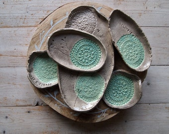 Ceramic bowls with own word/spell/In any color you want