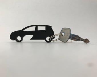 Cheverolet Sonic Hatchback Bottle Opener Keychain