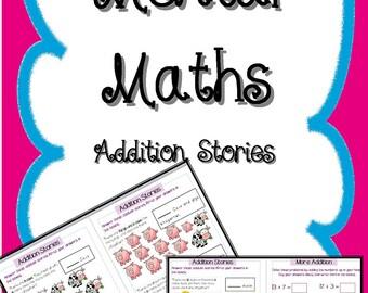 Mental Maths Addition Stories