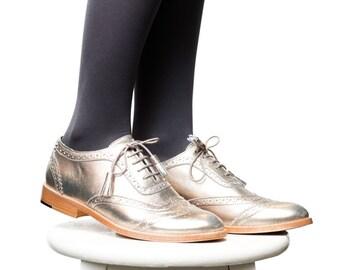Shoes - Women's Shoes - Oxfords & Tie Shoes - Brogues - Womens brogues - Spring oxfords shoes - Oxford shoes - Autumn shoes - Handmade shoes