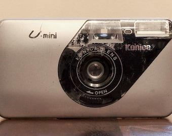Konica U-Mini 35mm Point & Shoot