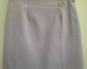 Size 8 small lilac pastel purple mini skirt 90's